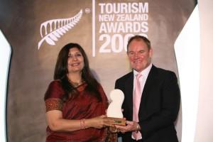 Tourism New Zealand Asia Award 2008 - Best luxury product Development