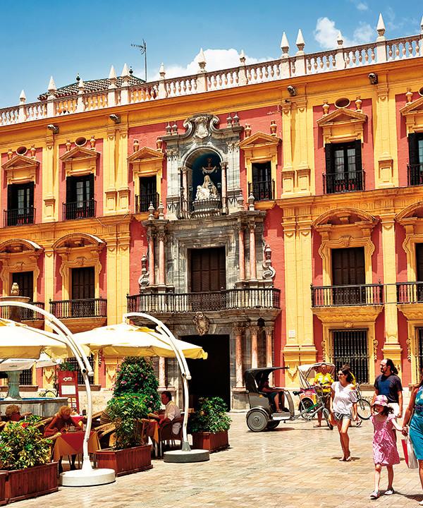 Malaga - city square