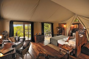 Bedroom interior -Serengeti Migration Camp
