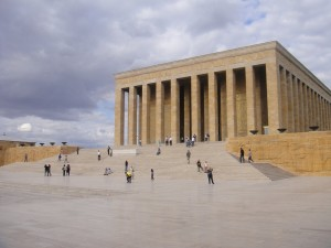 The mausoleum ataturk